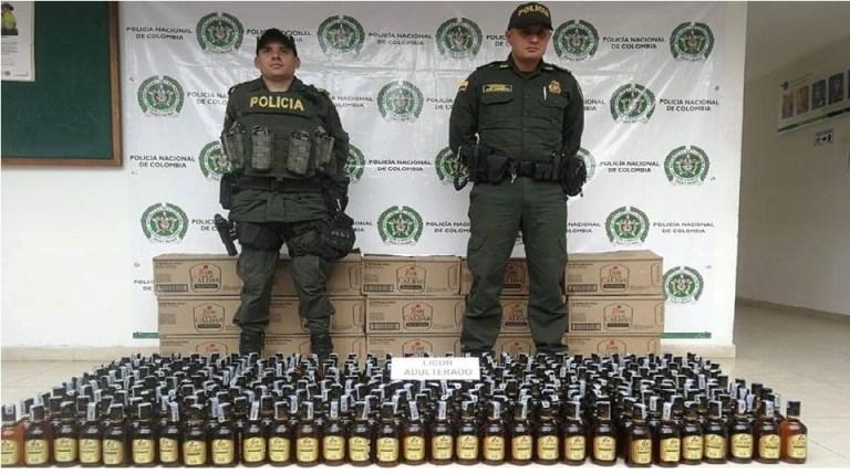 Autoridades incautaron gran cantidad de licor ilegal en Suaza