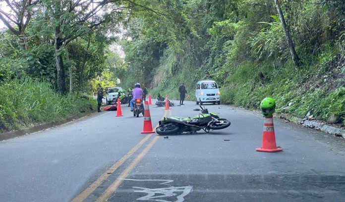 Fallece motociclista en la vía Paicol-La Plata