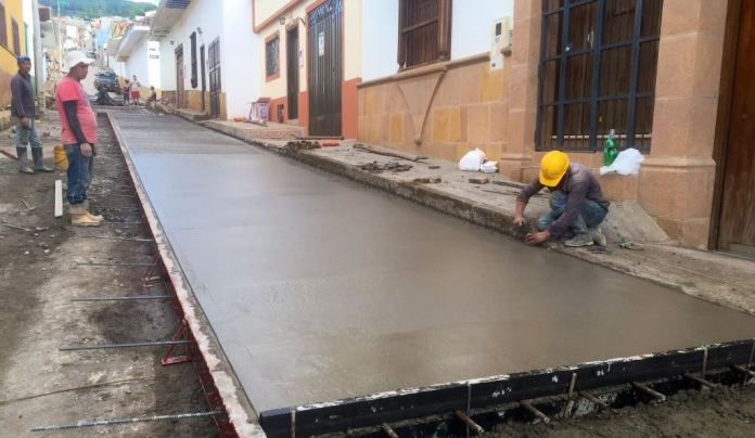 Nuevo proyecto de pavimentación urbana se ejecutará en Nátaga