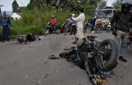 Motociclistas colisionaron aparatosamente en Pitalito