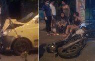Accidente de tránsito en Neiva dejó dos menores lesionados