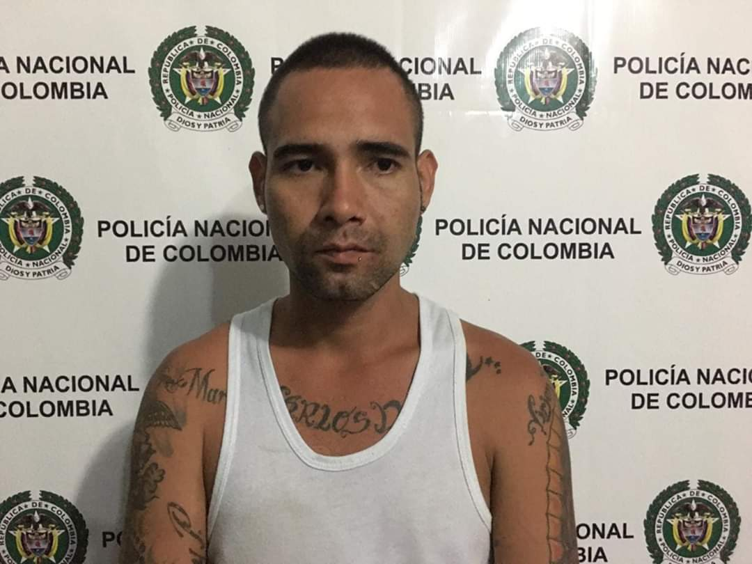 POLICÍA NACIONAL CAPTURO SUJETO EN FLAGRANCIA POR EL DELITO DE HURTO