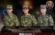 Estos son los soldados profesionales que fallecieron en trágico accidente en zona rural de Florencia.