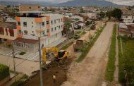 Inició pavimentación de la Avenida Primera en el sector oriental de Pitalito
