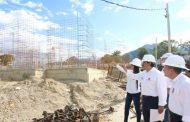 Positivo avance de construcción de 150 viviendas gratuitas en La Plata